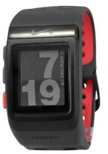 Nike+ Sport Watch GPS Powered by TomTom (Black Red)