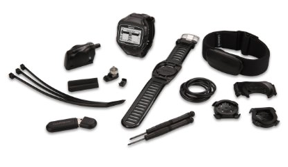 Garmin Forerunner 910XT GPS-Enabled Sport Watch with Heart Rate Monitor (Triathlon Bundle)