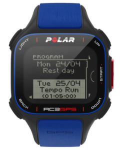 Polar RC3 runners GPS Watch - program