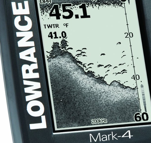 Lowrance Mark-4 Combo Base Fishfinder and Chartplotter Marine GPS