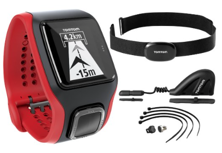 TomTom Multi-Sport Cardio with Cadence Sensor and Altimeter GPS watch