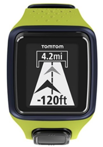 TomTom Runner GPS Watch Green-Deep Blue