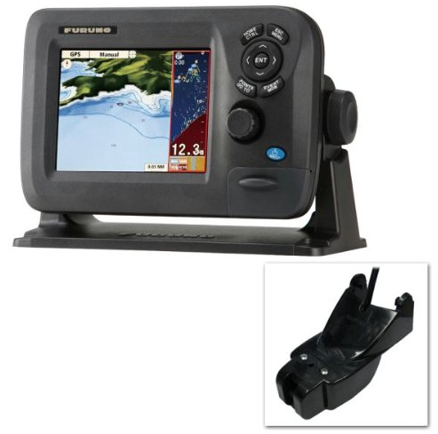 Furuno GP1670F Combination Marine GPS / Fishfinder / Chartplotter with transducer