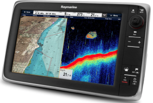 Raymarine e127 Marine GPS chart plotter fish finder