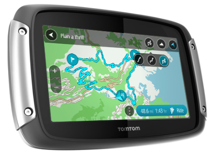 TomTom Rider Motorcycle GPS - overview