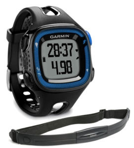 Garmin Forerunner 15 HRM Bundle GPS Watch - Black with heart rate monitor