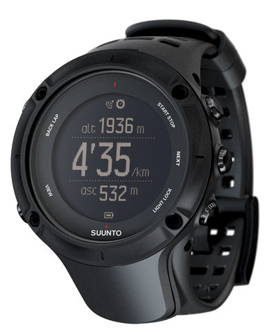 Suunto Ambit3 Peak GPS Watch Sapphire with Heart Rate Monitor - Black