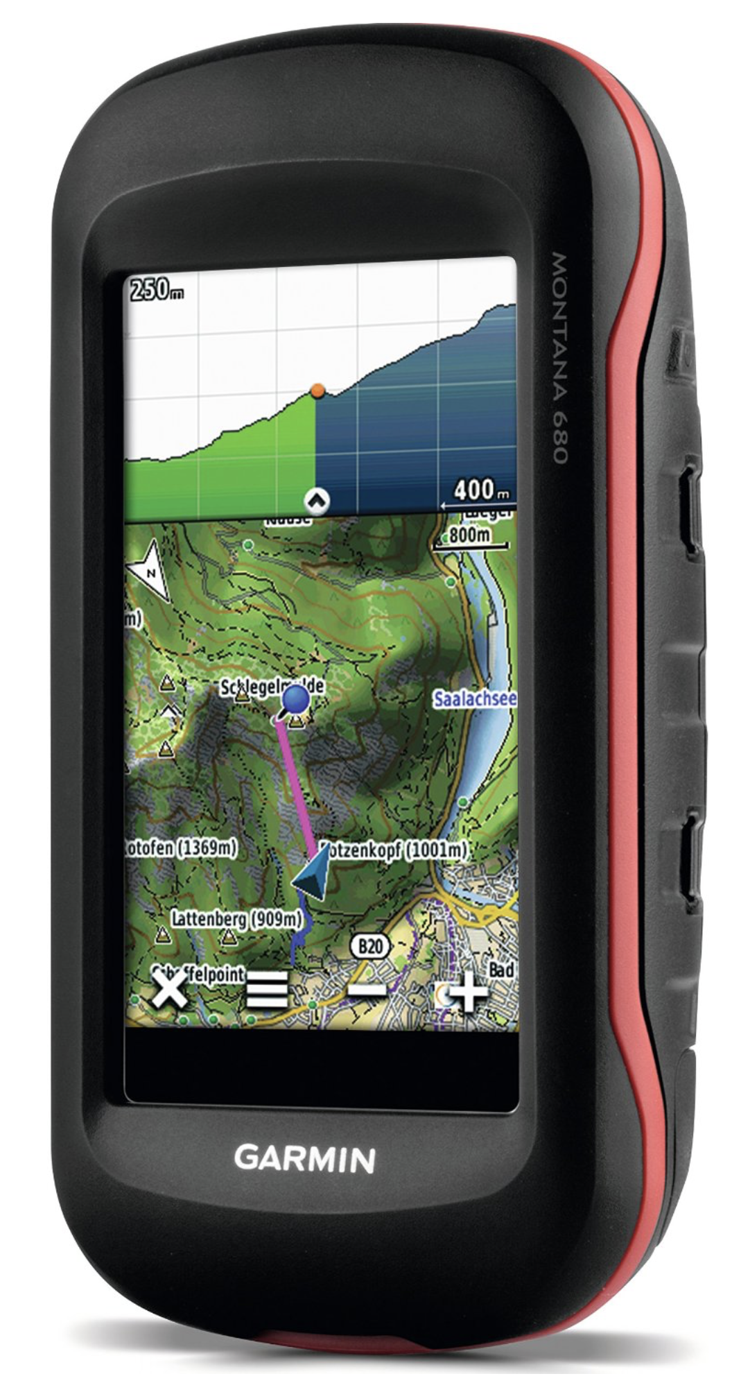 Garmin Montana 680 Waterproof Hiking GPS