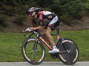 Dave Zabriskie - USA Pro Triathlon bicycle