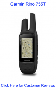Garmin Rino 755T Hiking GPS with radio